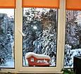 Кормушка для птиц на окно в коробке подарочной с присосками Белая, фото 7