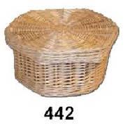 Плетена корзина для зберігання дитячих речей 19*19*10