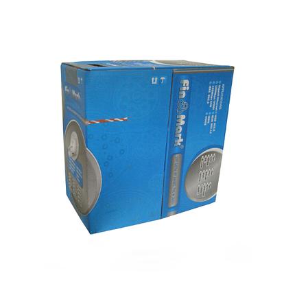 Кабель Витая Пара Наружный 2х2х0,51 2P 24AWG PE B 500m Pull Box (UTP-cat,5е) FinMark медь 0,51 Бухта 500метров, фото 2