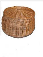 Кругла корзина маленька, діаметр 25см