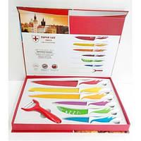 Набор ножей с керамическим покрытием Super Lux A-Plus AP-1364