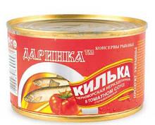 Рыбные консервы в томатном соусе