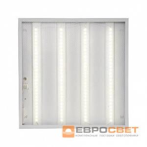 Светодиодная панельLED-SH-595-20 prismatic 36Вт 4000К 3000Лм