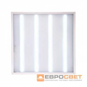 Светодиодная панель LED-SH-595-20 OPAL 36Вт 6400К 3000Лм (мат.стекло)