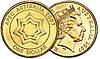 Монеты Австралия 2007 доллар год $1 UNCIRCULATED