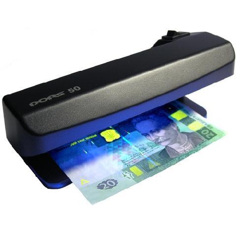 Детектор валют DORS 50 ультрафиолетовый