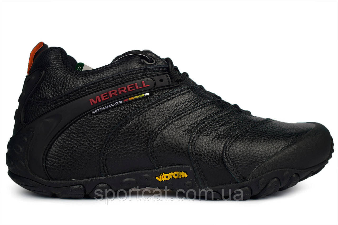 055ef2ea Зимние мужские кроссовки Merrell Continuum Goretex Black. Р. 45 - Интернет-магазин