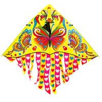 Воздушный змей 466-895 (600) 7 цветов, в кульке