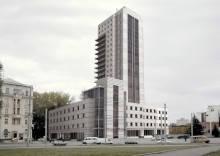 Жилой комплекс со встроено-пристроенными торгово-офисными помещениями и паркингом по ул. Макарова № 25 Б в г. Днепропетровске. 11