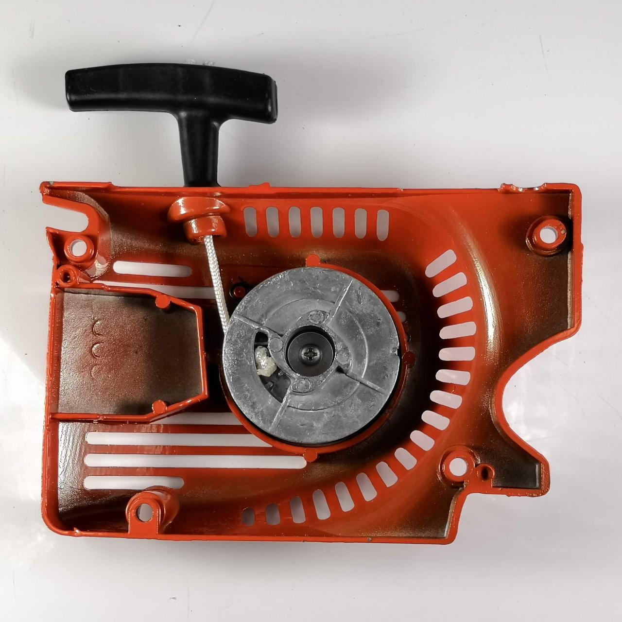 Стартер алюминиевый 4 зацепа алюм шкив для бензопилы Goodluck 45, 52