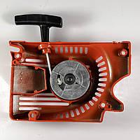 Стартер алюминиевый 4 зацепа алюм шкив для бензопилы Goodluck 45, 52, фото 1