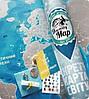 Скретч карта Discovery Maps World на украинском языке с авоськой, фото 4