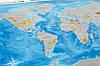 Скретч карта Discovery Maps World на украинском языке с авоськой, фото 6