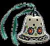 Колокольчик маленький керамический Art Lawn
