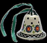 Колокольчик маленький керамический Art Lawn, фото 1