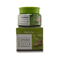 Увлажняющий крем с улиточным муцином Farmstay Snail Visible Difference Moisture Cream