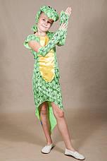 Дитячий карнавальний костюм Змія для дівчинки 5,6,7,8,9,10 років 342, фото 2
