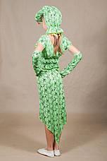 Дитячий карнавальний костюм Змія для дівчинки 5,6,7,8,9,10 років 342, фото 3
