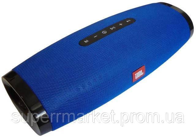 JBL Boost TV mini 20W копия, Bluetooth колонка с FM MP3, синяя, фото 2