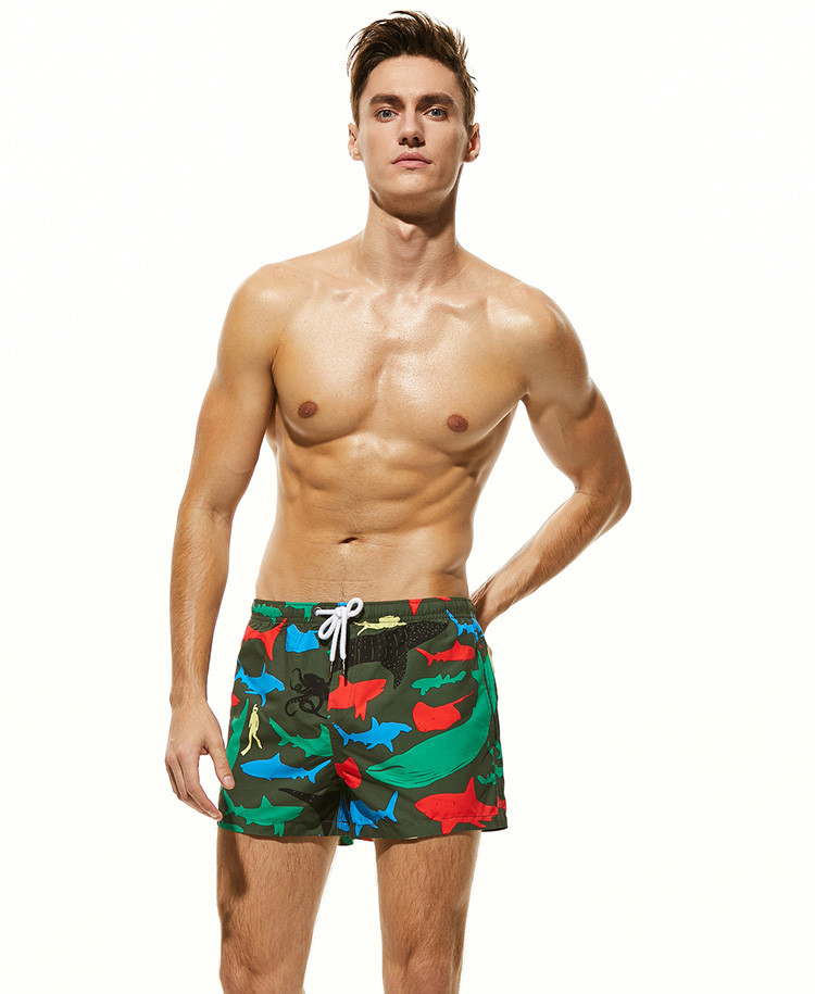 Мужские пляжные шорты Seobean - №4433