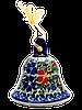 Колокольчик маленький керамический Solemn