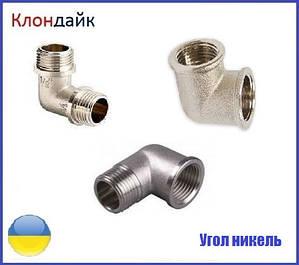 Угол латунный (никель)