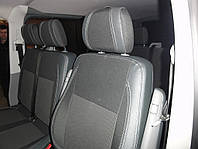 Volkswagen T5 2010-2015 чехлы на весь салон и передние (2+1) Premium