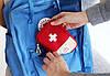 Органайзер-аптечка для дома и путешествия красная, фото 3