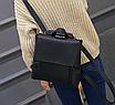 Рюкзак трансформер женский кожзам сумка Cool Черный, фото 6