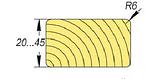 Планкен (прямой) Сосна 25х120х4000  І сорт., фото 2