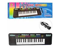 Детский игрушечный синтезатор.Детский синтезатор на 32 клавиши.Детский синтезатор с микрофоном.