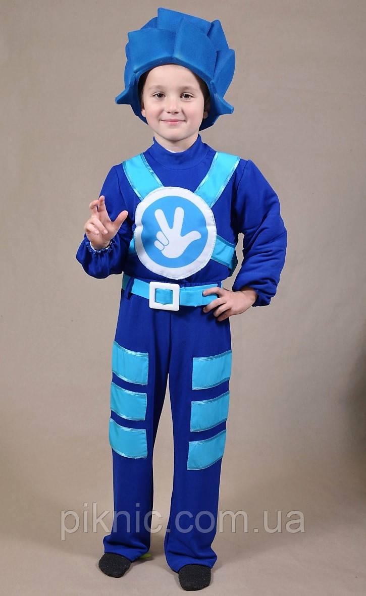 Детский карнавальный костюм Фиксика Нолика для мальчиков 7,8,9 лет 344