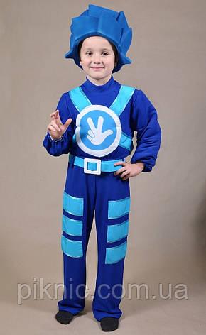 Костюм Фиксик 7,8,9 лет. Детский карнавальный новогодний костюм Нолика для детей 344, фото 2