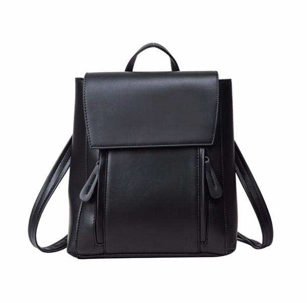 Рюкзак трансформер женский кожзам сумка Cool Черный