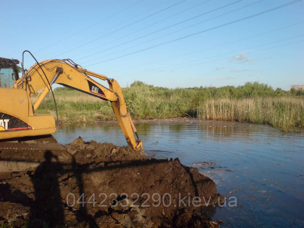 Очистка водоемов - Услуги в Украине