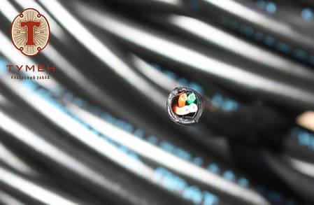 Кабель Витая Пара Наружный КВПП (100) 2х2х0,48 (UTP-cat,5е) Одесса Тумен Уличный Медный Внешний Любой Метраж!, фото 2