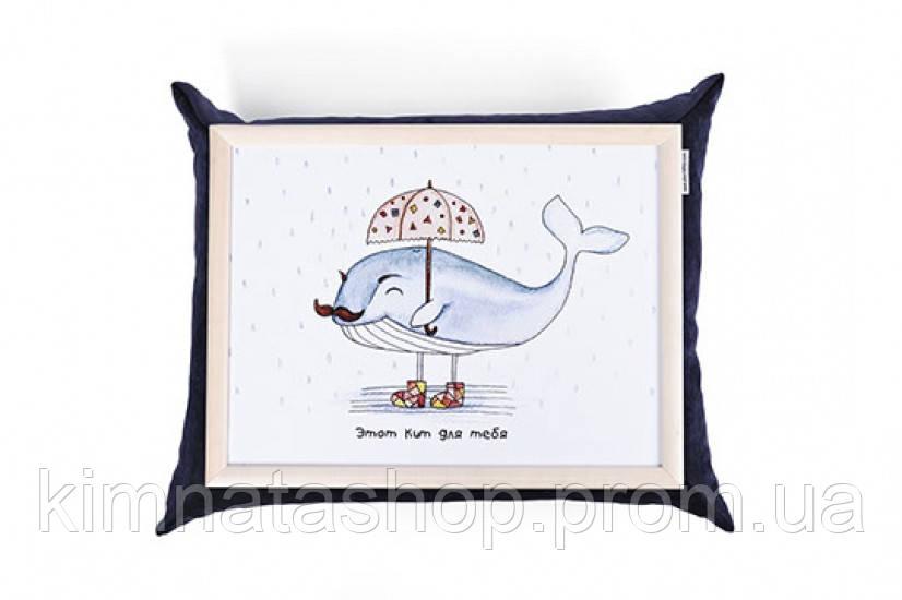 Піднос з подушкою Кіт