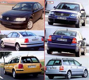 Зеркала для Volkswagen Passat B5 1997-00