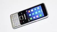 """Мобильный телефон  Nokia 6300 - 2Sim - 2,4"""" -FM - BT - Camera - металлический корпус"""