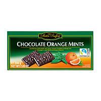 Черный шоколад с апельсином и мятой Maitre Truffout Chocolate Orange Mints