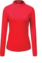 Гольф / свитер женский Glo-story красный