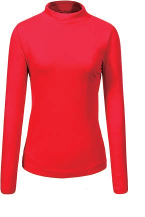 Гольф / свитер женский Glo-story красный, фото 2