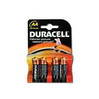 Батарейка Duracell LR-06 АА по 4 штуки