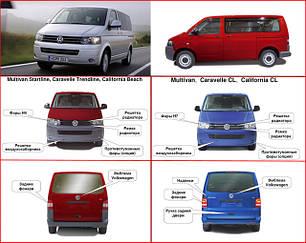 Зеркала для Volkswagen T5 2010-15