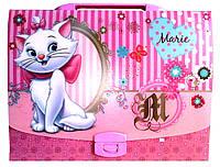"""Пластиковый портфель на замке """"Мери Кет"""" 490660, фото 1"""