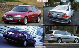 Зеркала для Toyota Avensis 2000-02
