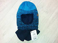 Детская зимняя шапка-шлем для мальчика, фото 1