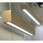 Інтер'єрний світлодіодний світильник в дерев'яному корпусі INF-LWD-WOOD-40W-2000 40W IP20 2000 мм, фото 6