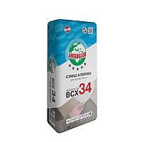 Клей для керамогранита ANSERGLOB BCX 34 25кг