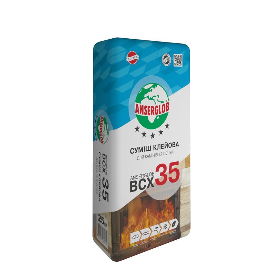 Смесь клеевая ANSERGLOB BCX 35  25кг